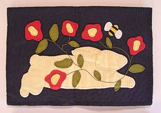 quilted wall hanging by Christy Hinkle