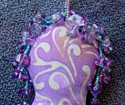 spirit doll, detail, by Robin Atkins