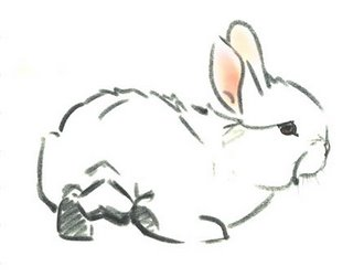 illustration from the book, Marshmallow by Newberry