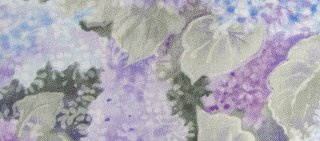 Pale Hydrangea, Boston commons quilt, fabric selection, photo by Robin Atkins, bead artist