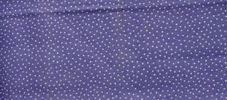 Periwinkle Polka Dot, Boston commons quilt, fabric selection, photo by Robin Atkins, bead artist