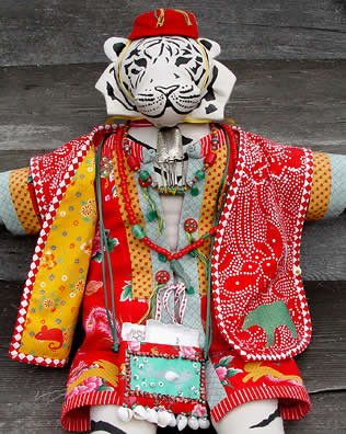 tiger doll by Mary Preston