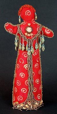 spirit doll by Robin Atkins, bead artist
