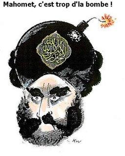Mahomet c'est trop d'la bombe