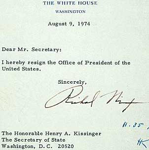 Nixon Resignation Letter - Unitedijawstates.com