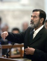 Saddam on trial