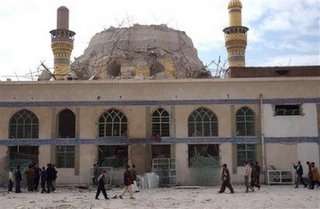 AP Photo - Damaged Al-'Askari Mosque in Samarra'