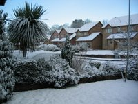 A picture of Clydach in the snow