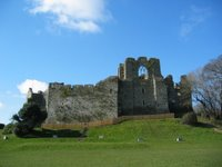 a picture of Oystermouth Castle