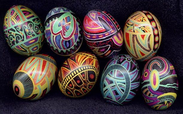 The Accidental Russophile Ukrainian Easter Eggs