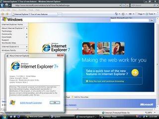 Internet Explorer 7+