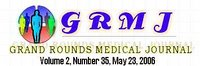 Magazine banner: the text reads: 'Grand Rounds 2:35, May 23 2006