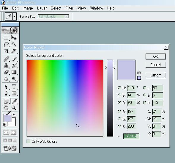 Adobe Photoshop Color Picker
