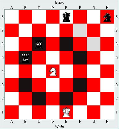 Chess: 나이트(Knight)의 행마