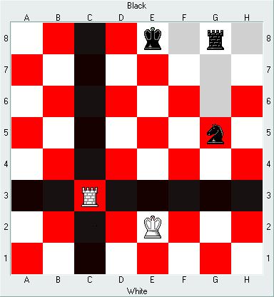 Chess: 룩(Rook)의 행마