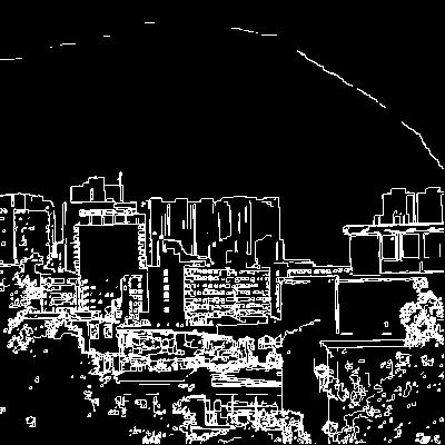 포토샵 예제: 윤곽선 추출 사진