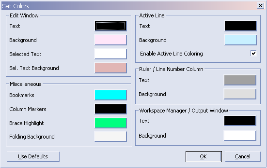 UltraEdit Color: 울트라에디트 색깔 지정