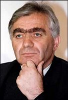 Former Bosnian Serb politician Momcilo Krajisnik in an undated photo.