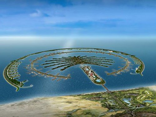 Gis sites dubai man made island nears completion for Gis for landscape architects