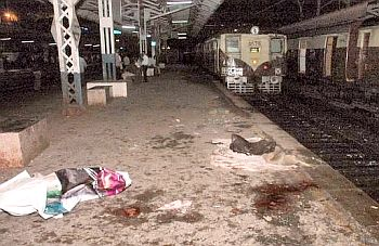 Picture of Mahim station by PTI for The Hindu