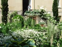 The courtyard garden at Syon House
