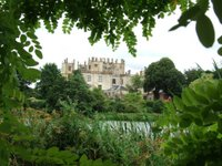 Sherborne Castle from across the lake