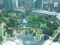 The park from floor 41