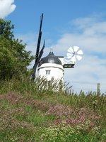 Cobstone Mill overlooking Turville