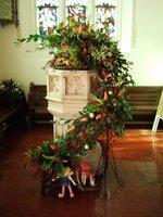Harvest Festival flower arrangement