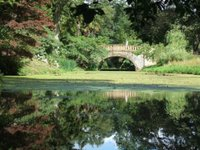 One of the artifical lakes at Minterne Gardens