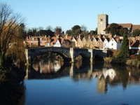 C14th bridge at Aylesford