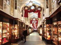 Burlington Arcade decked out for Christmas
