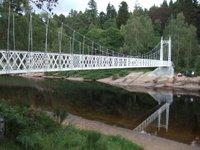 Cambus O'May suspension bridge