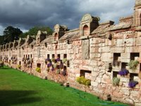 Edzell Castle wall