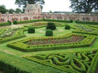 Edzell Castle garden