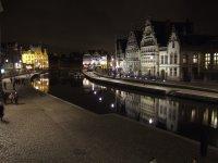 Graslei by night