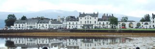 Inveraray across the bay