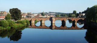 13th century bridge at Dumfries
