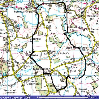 Map courtesy of Ordinance Survey website