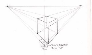 2 Point Perspective Objects further 1461156 in addition How To Draw Isometric Vectors furthermore Fun With One Point Perspective Boxes likewise 3870349657564622. on 2 point perspective drawing cube