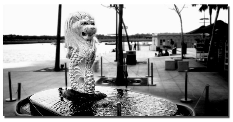 The baby Merlion