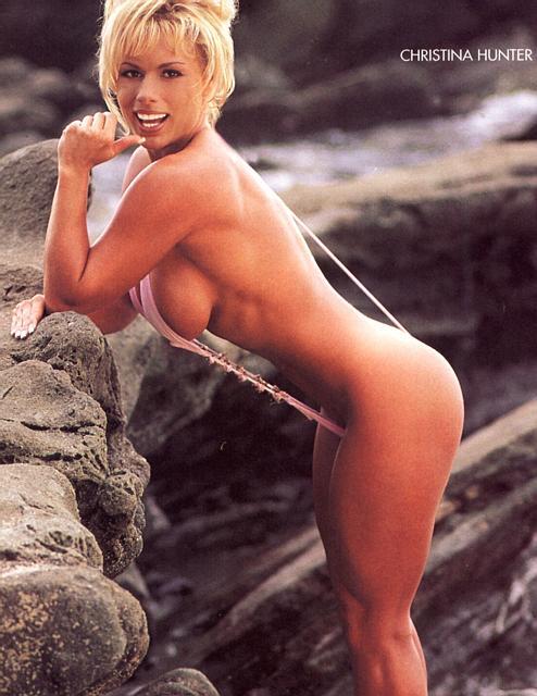 red jamie eason sling bikini