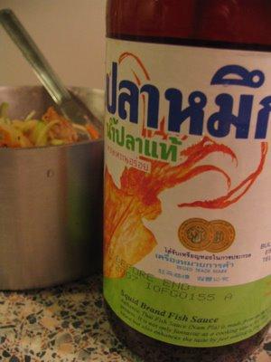 Away from home imitation thai kerabu for Squid brand fish sauce