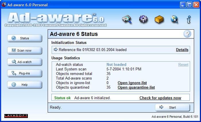 Ad-aware free antivirus+ 11