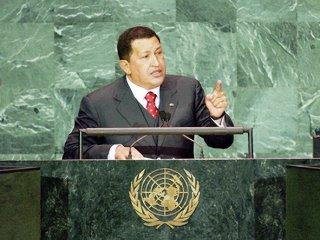 Resultado de imagen para discurso HUGO chavez en la ONU 2006