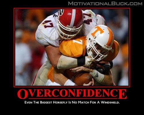 overconfidence georgia sports blog more rival posters from heyjennyslater,Georgia Football Memes