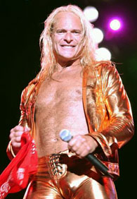 David Lee Roth Had to have some kind of washed-up '80s rocker on here, ...