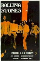 Rolling Stones Altamont poster