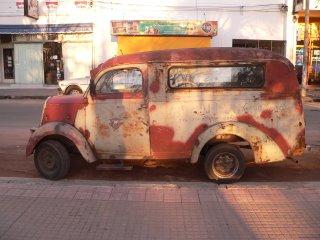 oude auto in Carmelo