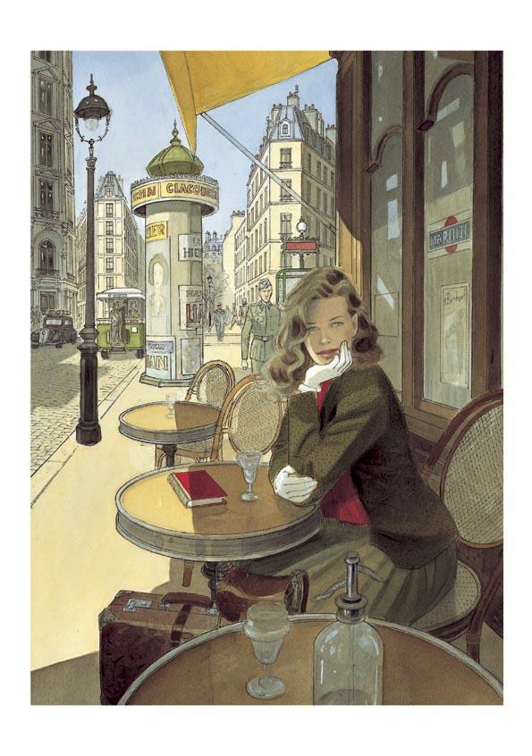 Le VOL DU CORBEAU par Jean-Pierre Gibrat - Couverture